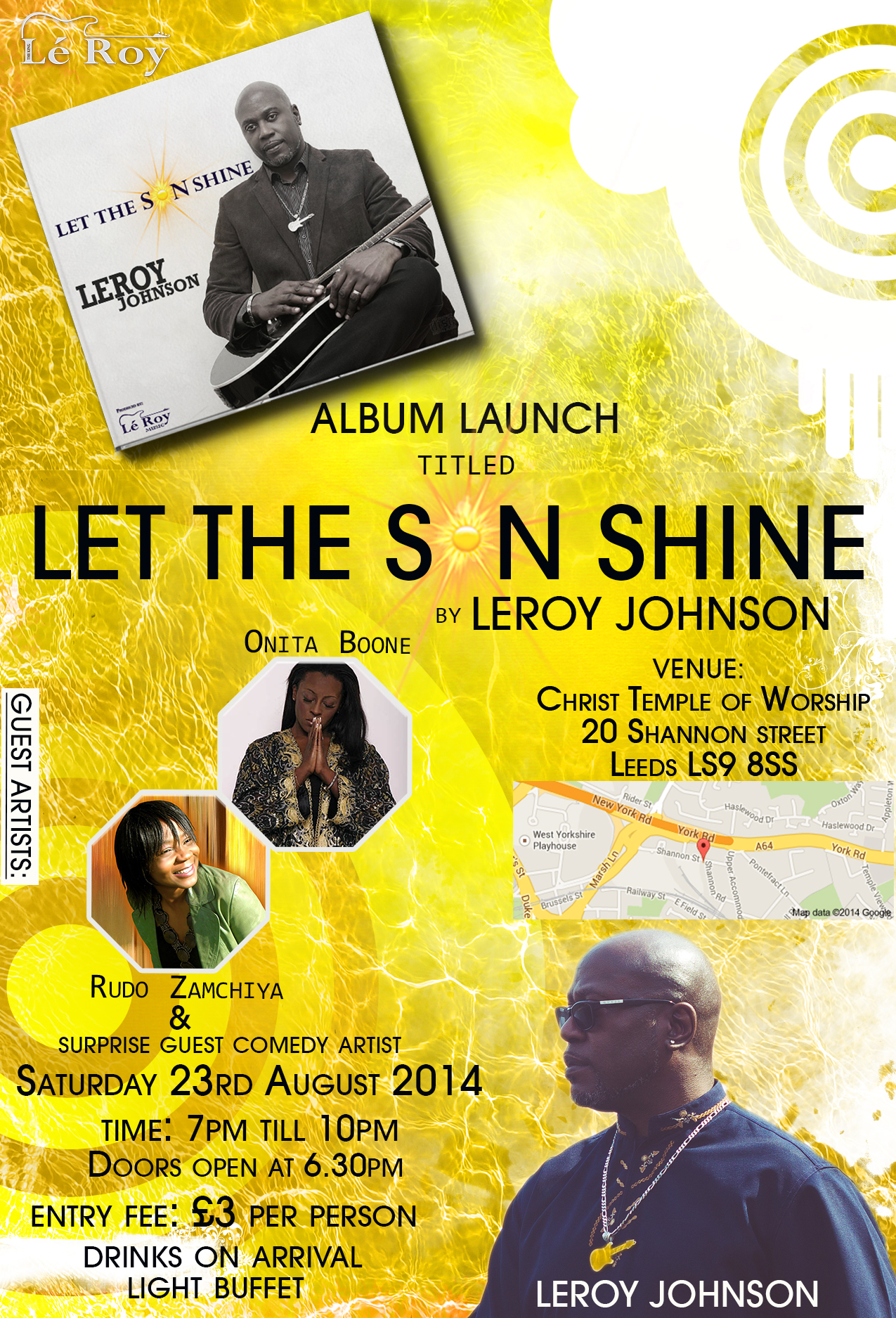 LET THE SUNSHINE ALBUM LAUNCH