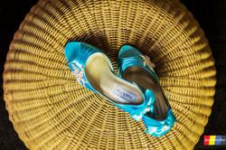 Bride's shoe