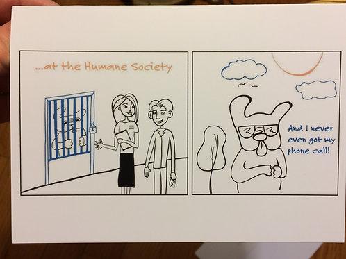 """""""At the Humane Society"""""""