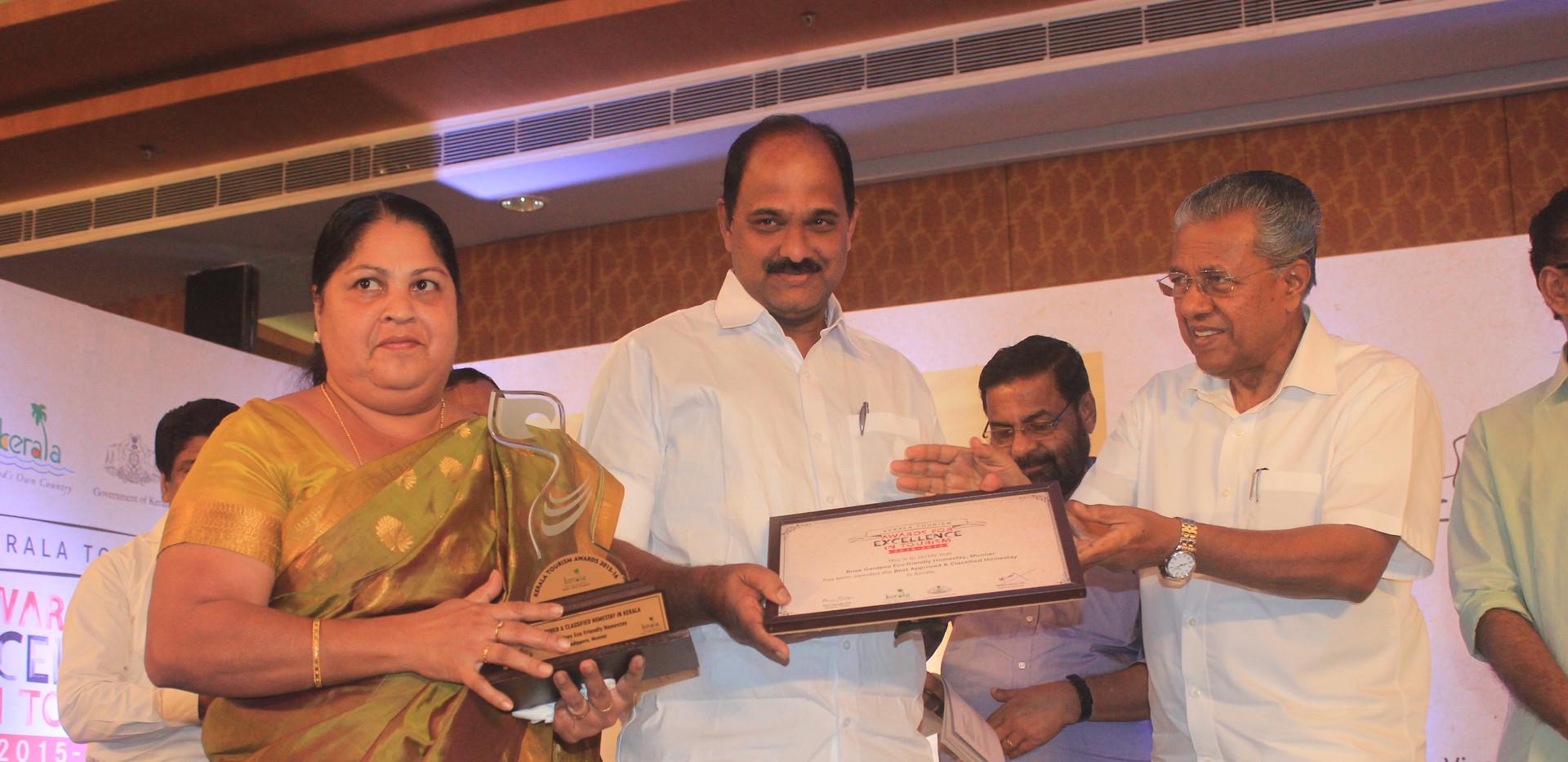 Best B&B Kerala Govt..JPG