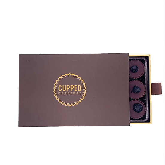 Box of Wild Blueberry Cups