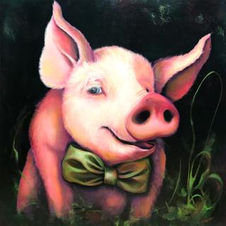 Fancy piggy!