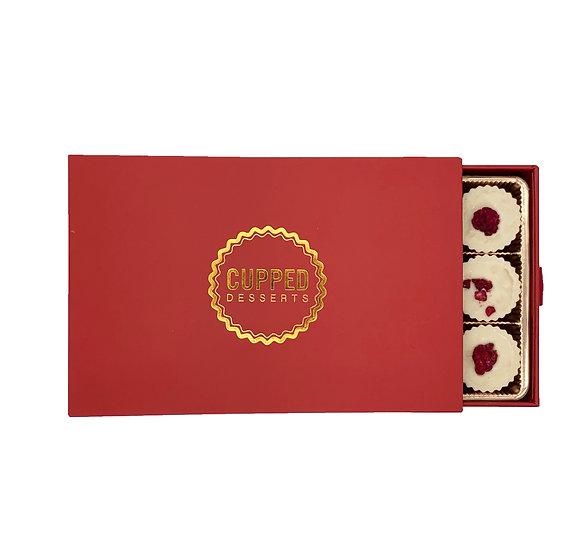 Lovers Vanilla Bean Raspberry Cups Box