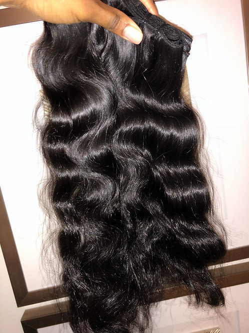 Luxe Indian Hair Body Wave/Natural Curl