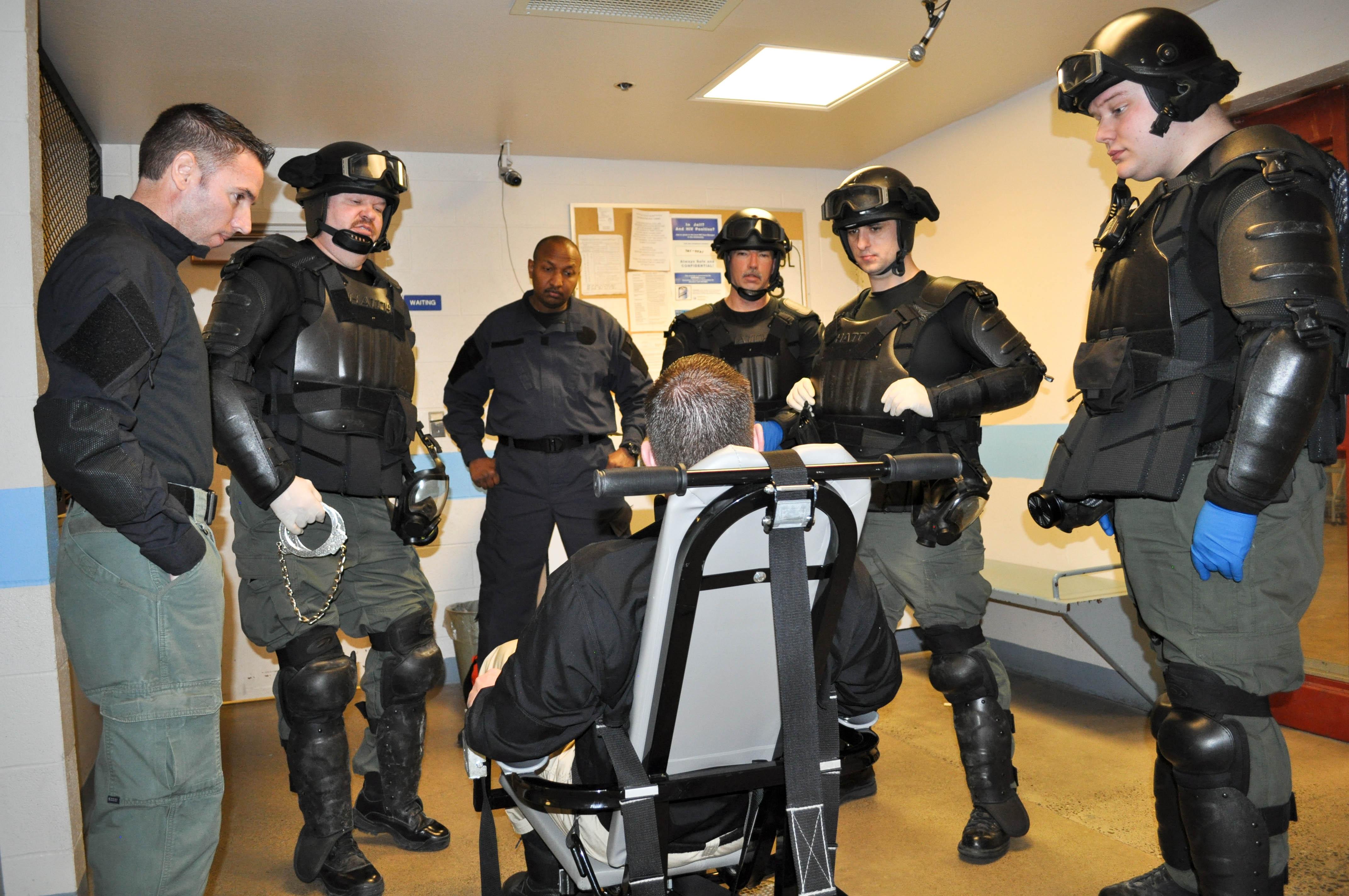 Restraints Chair Training