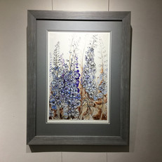 limited edition print framed in artglass