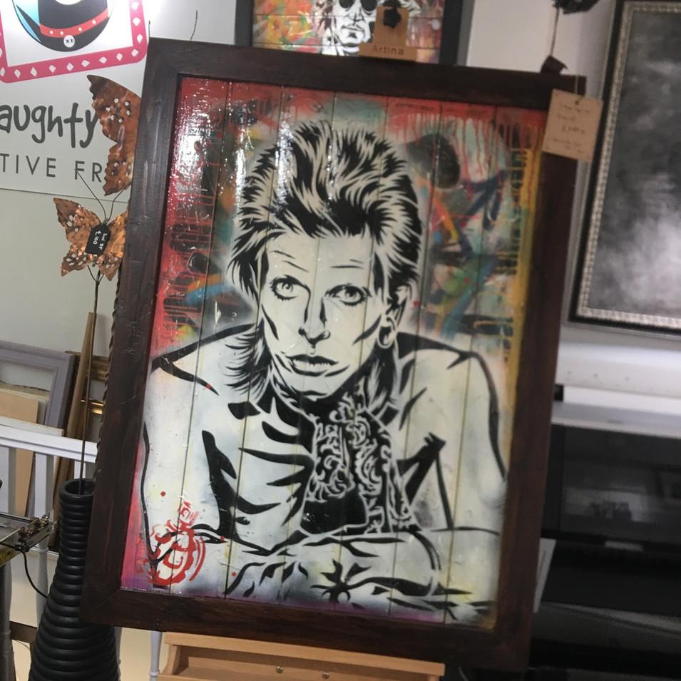 David Bowie original artwork.
