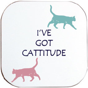 CATTITUDE CAT COASTER