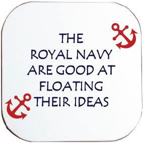 ROYAL NAVY FLOATING COASTER