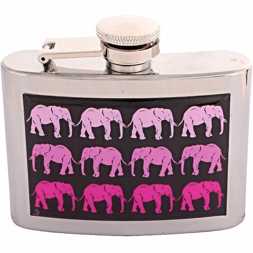 PINK ELEPHANT - HIPFLASK