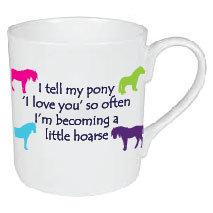HOARSE PONY / HORSE MUG