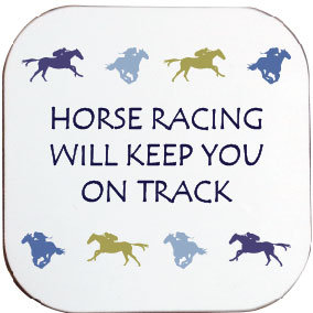 HORSE RACING ON TRACK COASTER
