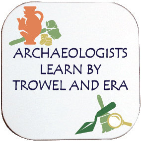 ARCHAEOLOGISTS COASTER