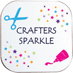 CRAFTERS SPARKLE COASTER