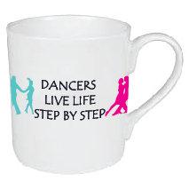DANCERS LIVE LIFE STEP BY STEP MUG
