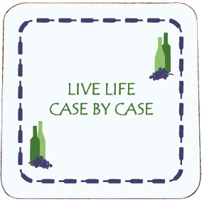 WINE COASTER CASE BY CASE