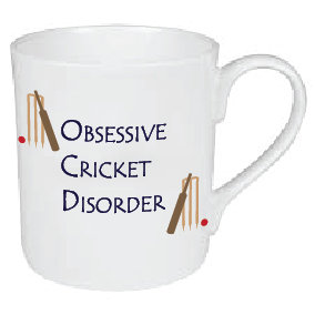OBSESSIVE CRICKET DISORDER MUG