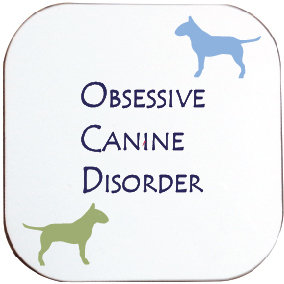 ENGLISH BULL TERRIER DOG COASTER
