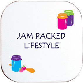 JAM PACKED LIFESTYLE COASTER