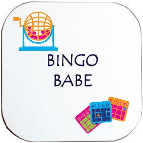 BINGO BABE COASTER