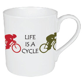 LIFE'S A CYCLE MUG