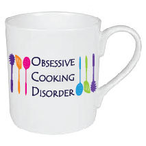 SMALL OBSESSIVE COOKING DISORDER MUG