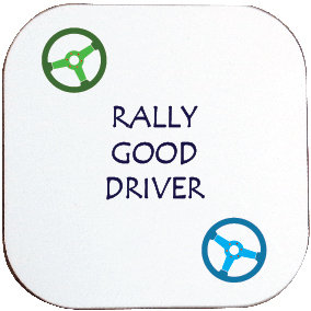 RALLY GOOD DRIVER / CAR COASTER