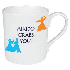AIKIDO GRABS YOU MUG