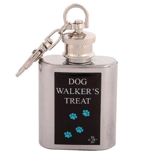 DOG WALKERS TREAT - KEYRING HIPFLASK