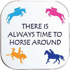 HORSE AROUND COASTER