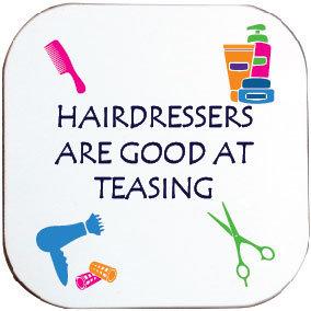 HAIRDRESSING COASTER