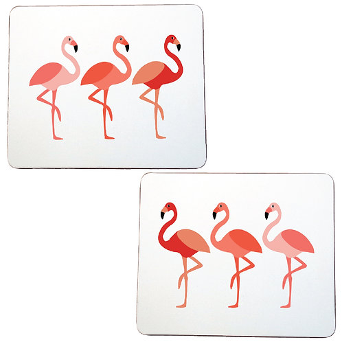 FLAMINGO PLACEMATS - sold as a pair