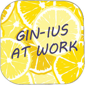 GIN-IUS AT WORK COASTER