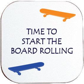 SKATEBOARDING COASTER