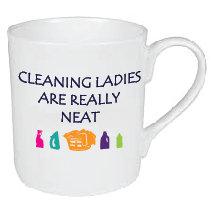 CLEANING LADIES MUG