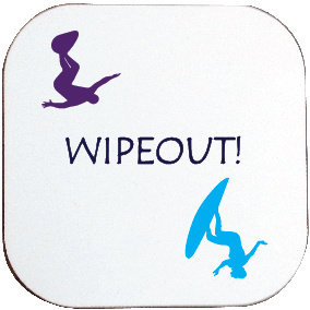 SURFER WIPEOUT COASTER