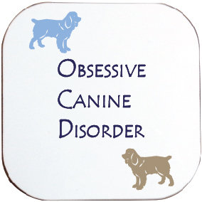 COCKER SPANIEL DOG COASTER
