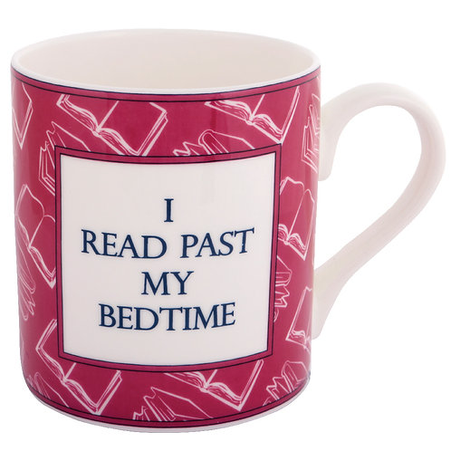 BOOK MUG - I READ PAST MY BEDTIME