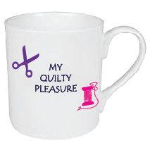 QUILTY PLEASURE MUG