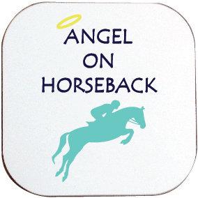ANGEL ON HORSEBACK COASTER