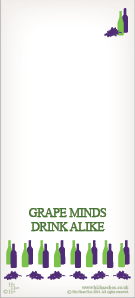 GRAPE MINDS MAGNETIC SHOPPING LIST