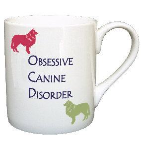 COLLIE DOG MUG