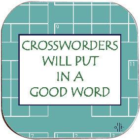 CROSSWORD COASTER