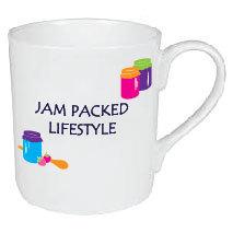 JAM PACKED LIFESTYLE MUG