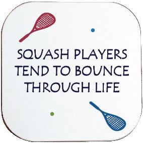 SQUASH PLAYERS BOUNCE COASTER