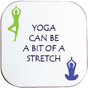 YOGA STRETCH COASTER