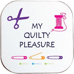 QUILTY PLEASURE COASTER