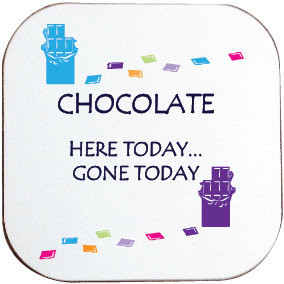 CHOCOLATE COASTER