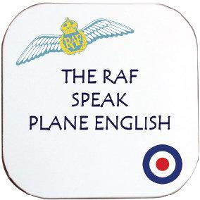 THE RAF SPEAK PLANE ENGLISH