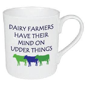 UDDER THINGS FARMING MUG